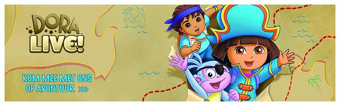 Dora Live! binnenkort in Vlaanderen