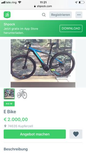 Marktplatz-Analyse: Gebrauchte E-Bikes boomen