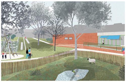Délivrance du permis d'urbanisme pour la rénovation du parc Paulus et du boulodrome