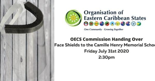 [Media Alert] OECS Commission Handover to the Camille Henry Memorial School