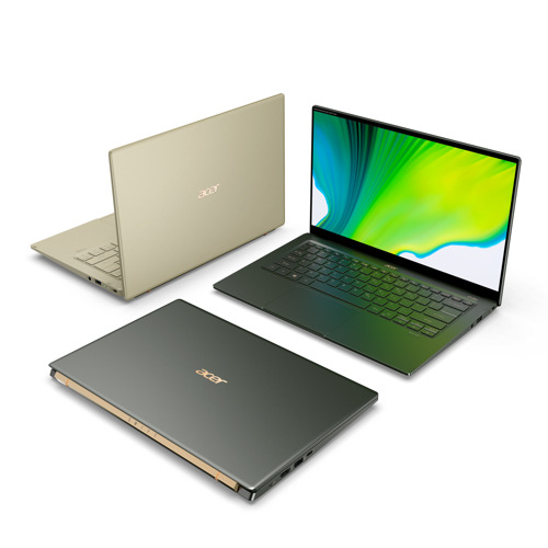Acer Announces Availability of New Swift 5 and Swift 3 Notebooks Powered by 11th Gen Intel Core Processors, Swift 5 Verified as An Intel Evo Platform Notebook