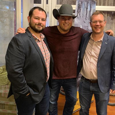 Jest Sidloski, Director, Marketing & Customer Experience, Gord Bamford, Doug Anderson, CEO, Peavey Industries