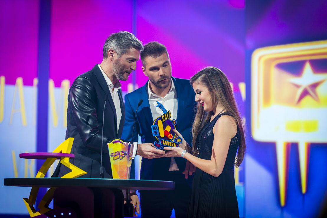 Vrouwelijke tv-ster van het jaar: Jamie Lee Six - (c) Frederik Beyens