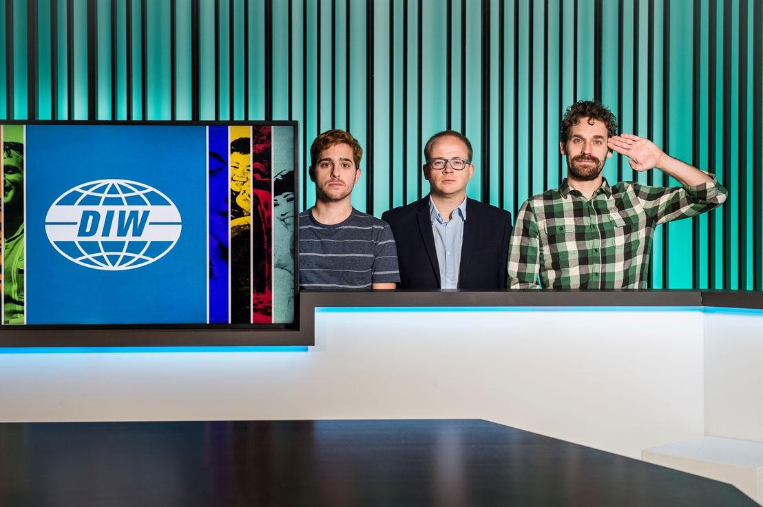 De Ideale Wereld: Jelle De Beule, Sven De Leijer, Otto-Jan Ham - (c) Joost Joossen