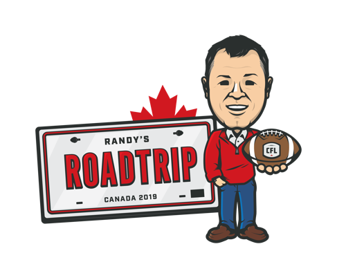COMMISSIONER RANDY AMBROSIE IS ONCE AGAIN HITTING THE ROAD TO VISIT EACH CFL MARKET