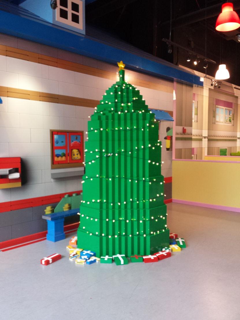 LEGO Big Tree Build