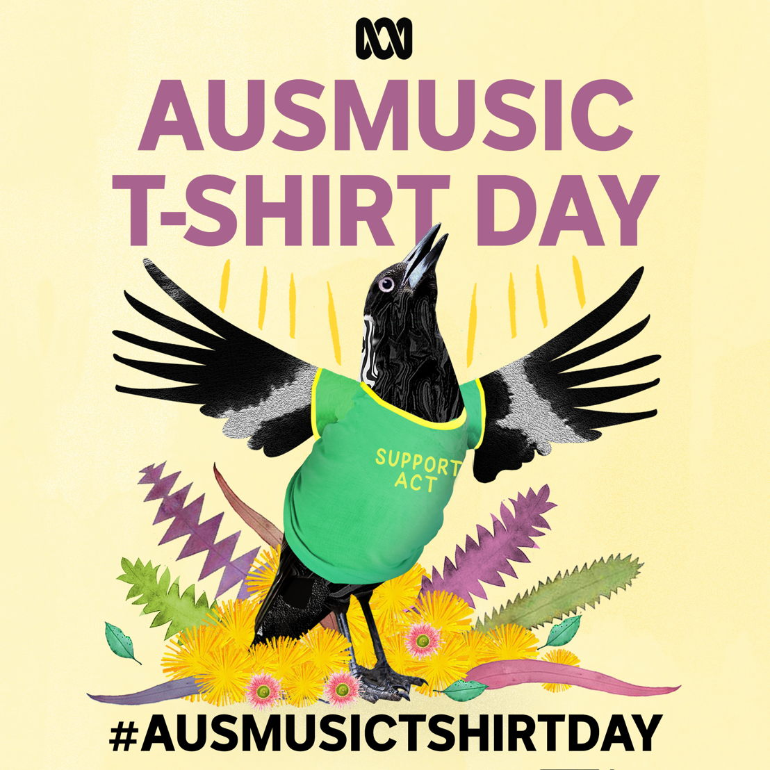 #AusmusicTshirtDay on 3 November