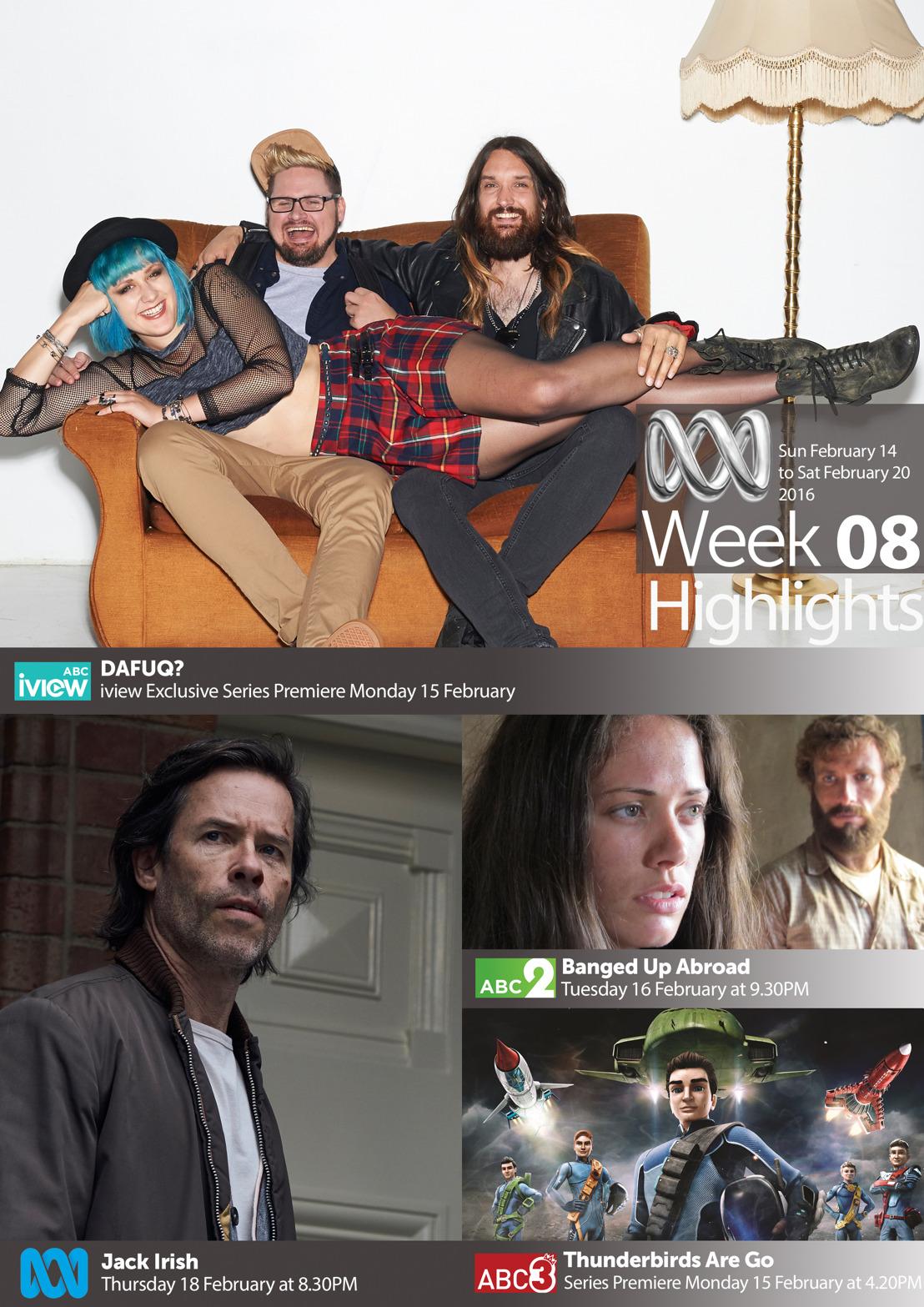ABC TV Highlights - Week 8