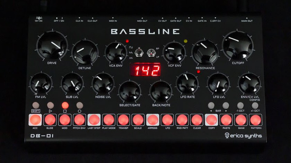 Preview: The Bassline You've Been Waiting For: Erica Synths Introduces DB-01
