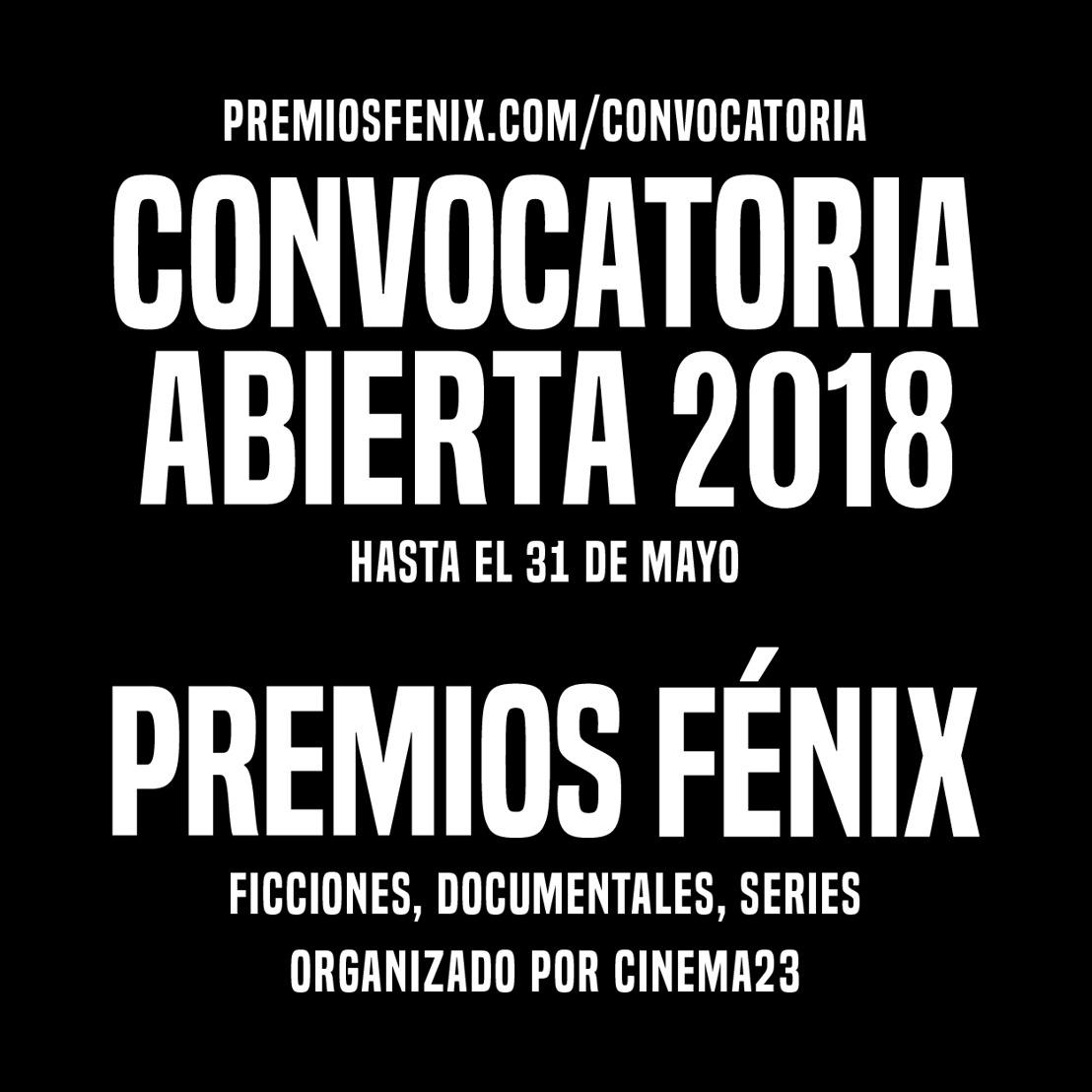 CINEMA23 anuncia la convocatoria para la quinta edición de los Premios Fénix
