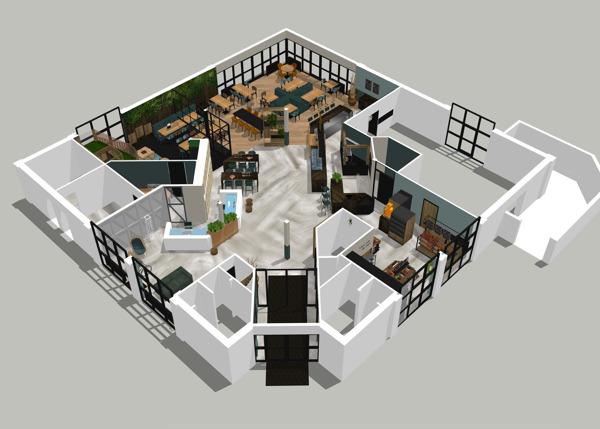 Preview: Roompot vakantiepark De Soeten Haert krijgt nieuw centrumgebouw