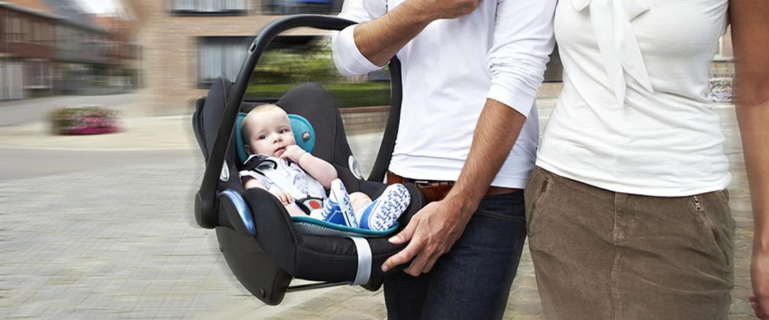 Bébé veut voyager au frais et en tout confort