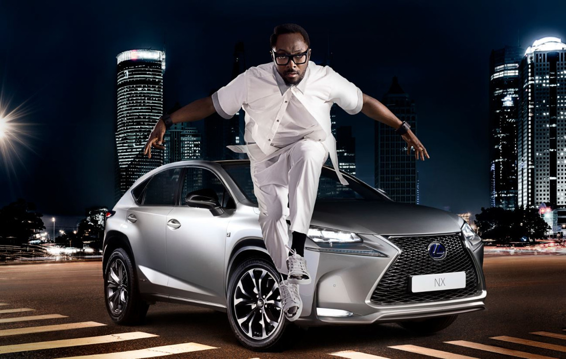 WILL.I.AM APPORTE SON ÉNERGIE À LA CAMPAGNE « STRIKING ANGLES » DU LEXUS NX