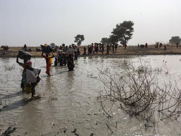 Preview: Nigeria: Tausende fliehen nach Angriff auf die Stadt Rann nach Kamerun