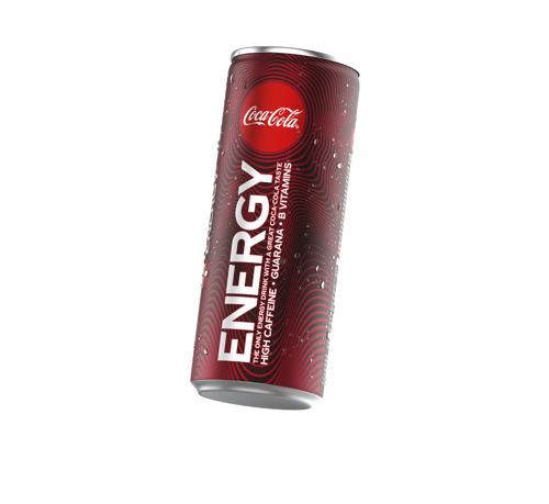 Coca-Cola kondigt de lancering aan van Coca-Cola Energy