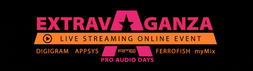 Synthax Unites Audio Community with Virtual 'Extravaganza Pro Audio Days' Event Featuring Performances, Demos & Educational Sessions