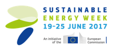 The EU Sustainable Energy Week press room Logo