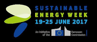 The EU Sustainable Energy Week press room Logo