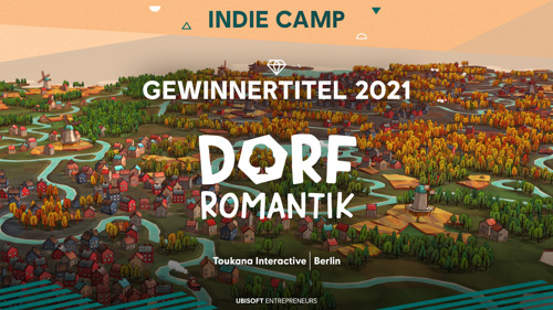 Dorfromantik von Toukana Interactive gewinnt das Indie Camp 2021