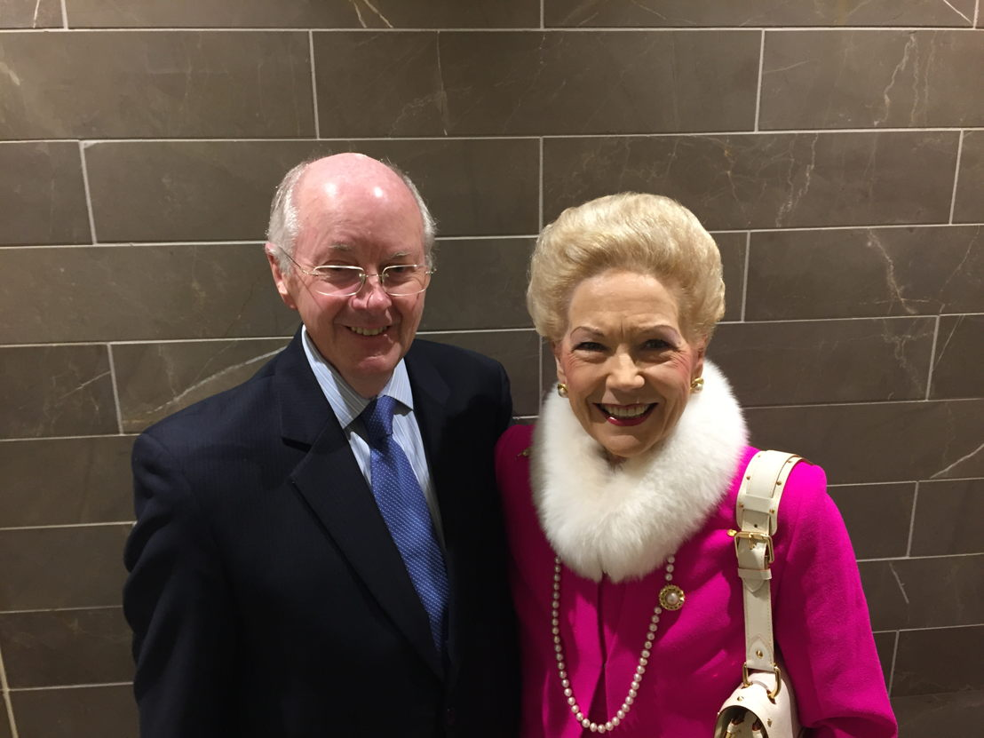 Susan Alberti with husband Colin North