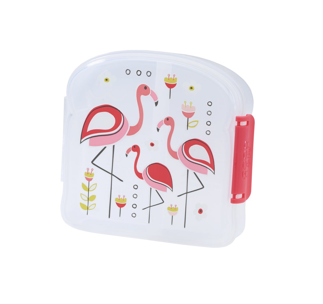 SugarBooger sandwich box Flamingo - €9,95