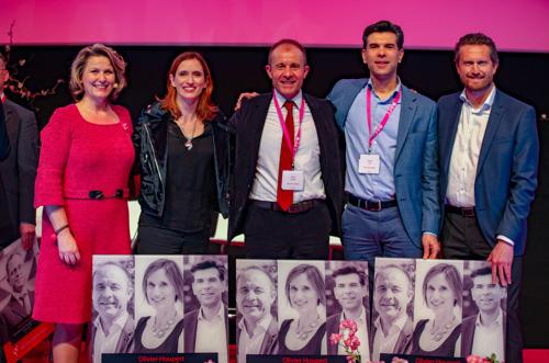 Preview: De leidinggevenden van P&G Caroline Thomaes, Patrizio Ricci en Olivier Houpert winnen de Wo.Men @ Work Award 2019