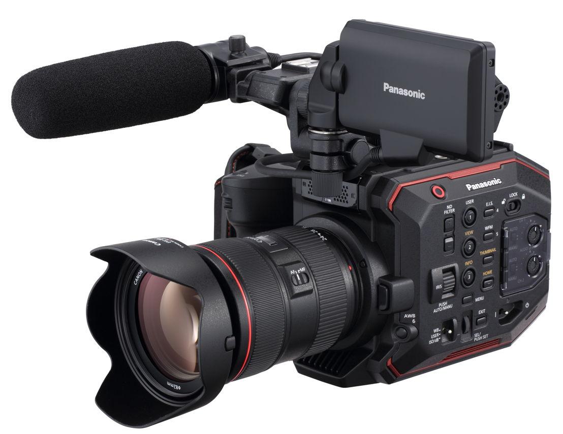 Firmware 2.0 para la cámara de cine AU-EVA1