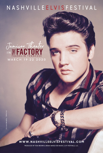 Nashville Elvis Festival Moves to the Factory in Franklin, Adds Pat Boone to Stellar Lineup