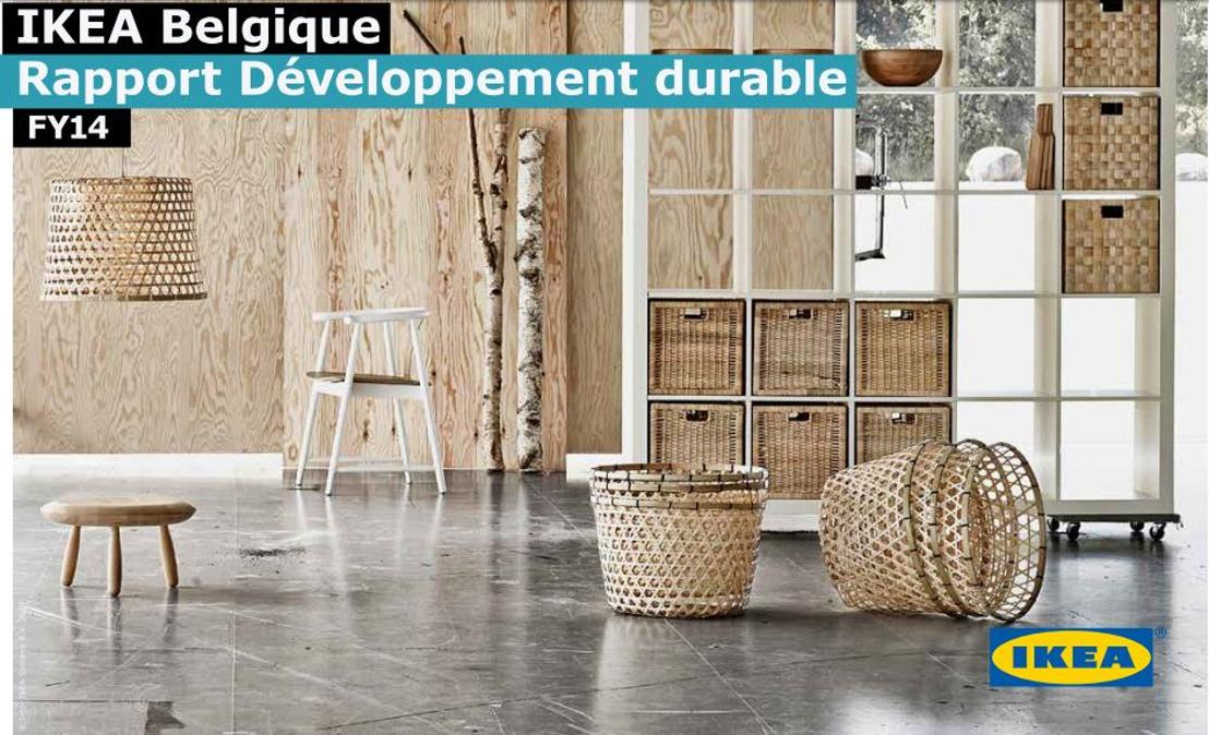 IKEA Belgique publie son Rapport de Développement durable 2014