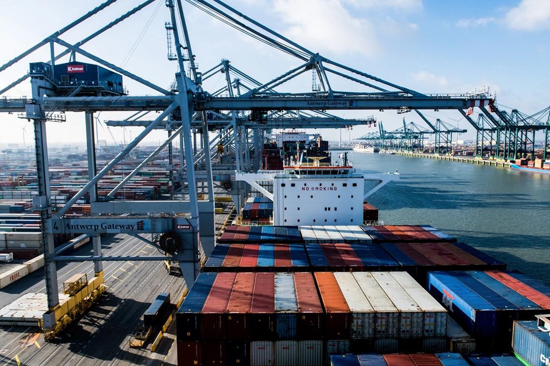 Suezincident: Port of Antwerp anticipeert waar mogelijk op drukke terminals