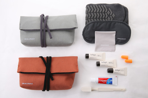 Dragonair offers new amenity kit for First and Business Class passengers on selected routes