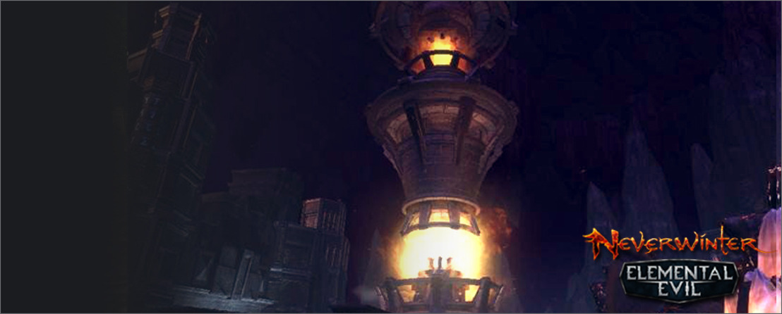 Земля, Вода, Огонь и Воздух - территории четырех стихий в Neverwinter.