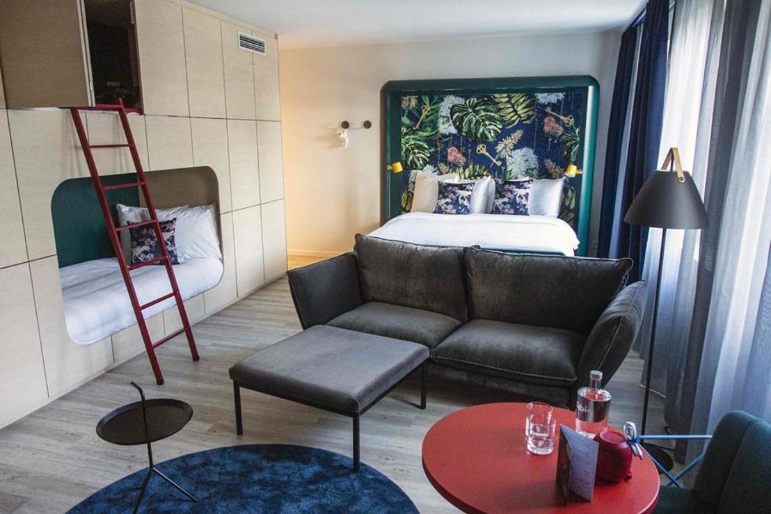 Qbic Bruxelles propose des chambres aux personnes qui en ont besoin