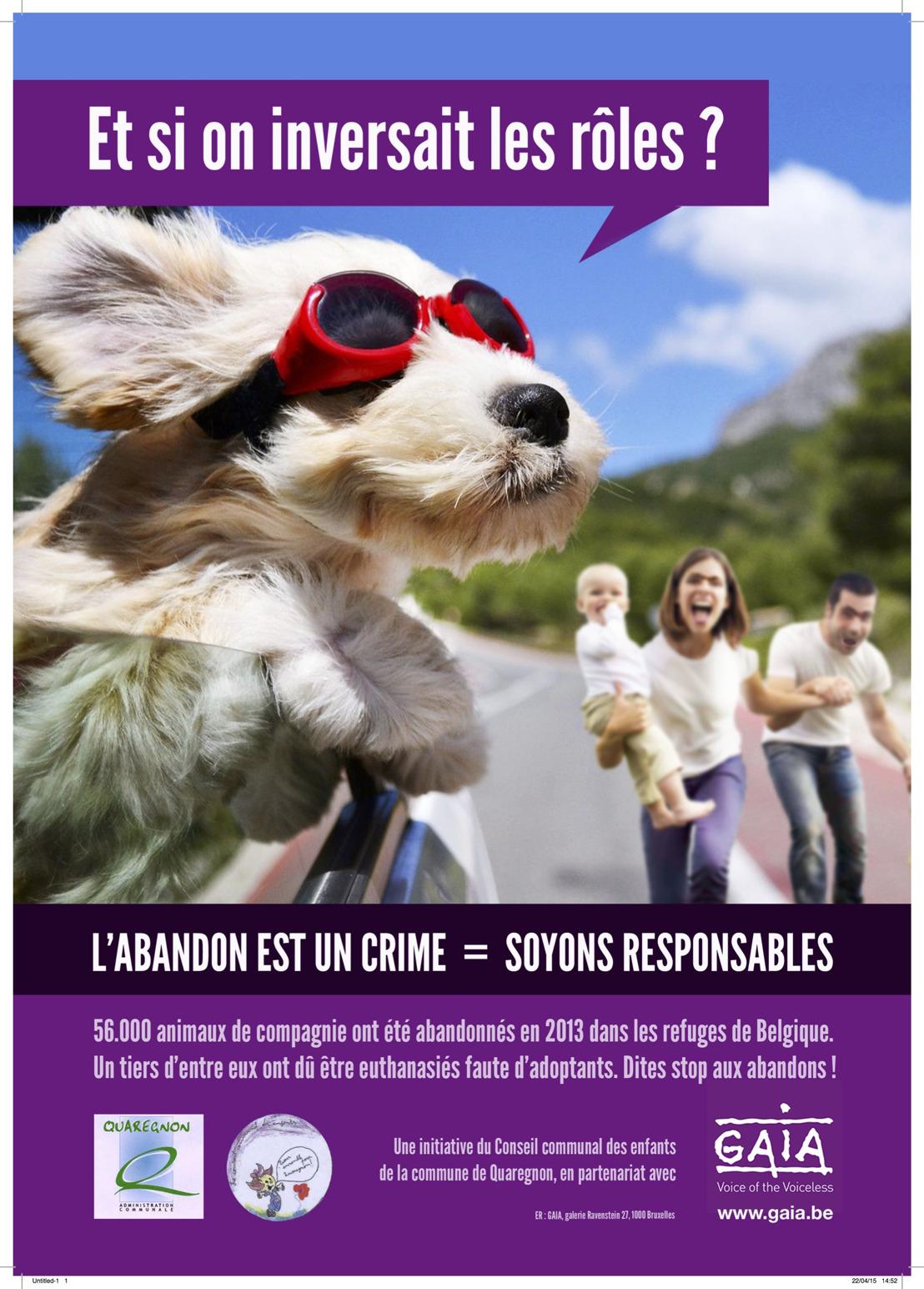 Journée d'action pour les animaux à l'approche des vacances d'été