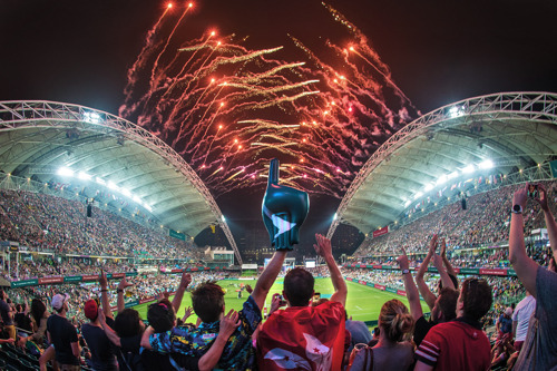 Experience the legendary Hong Kong Sevens with Cathay Pacific