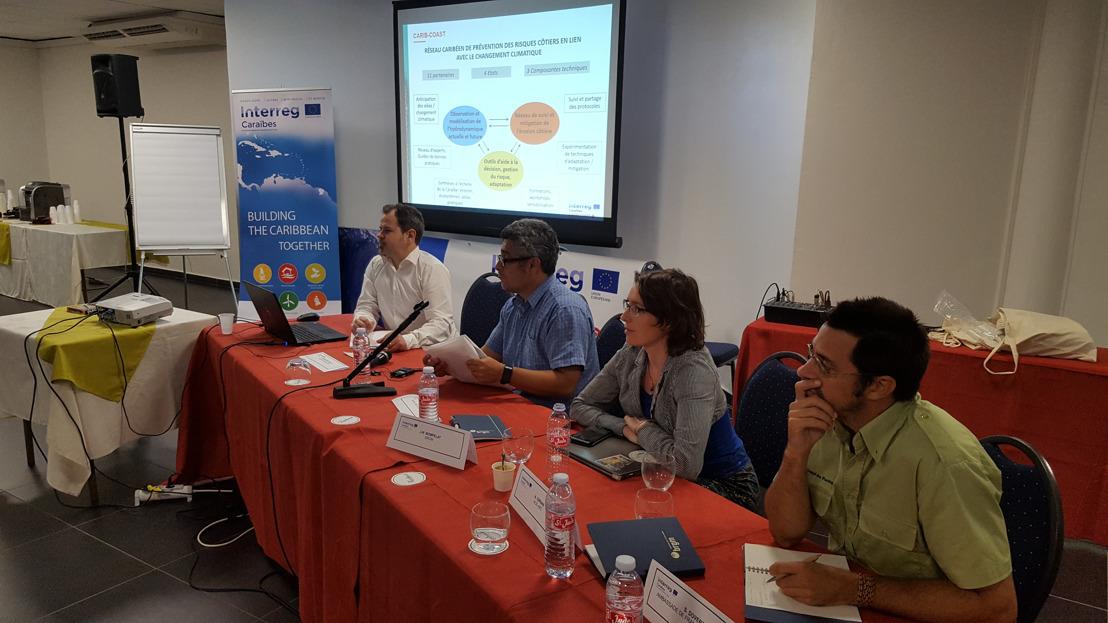 Lancement du projet INTERREG CARIB-COAST : 3 millions d'euros de l'Union Européenne pour la gestion des risques côtiers dans la Caraïbe