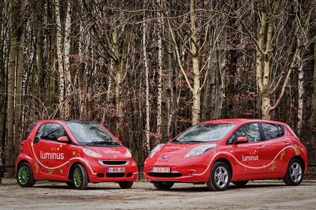 elektrische auto's merk Luminus
