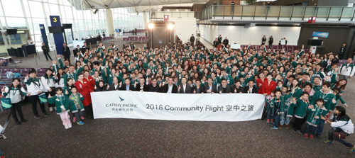 Cathay Pacific Community Flight takes 250 Hong Kong  residents on a trip to remember