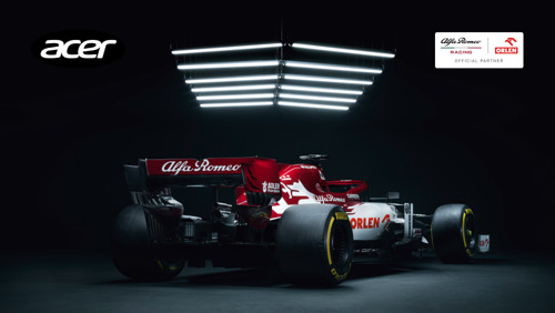 Alfa Romeo Racing ORLEN and Acer Keep Pushing Innovation