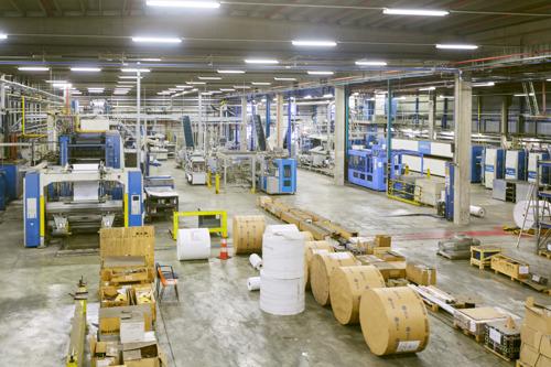 L'imprimerie Corelio Printing est mise aux enchères