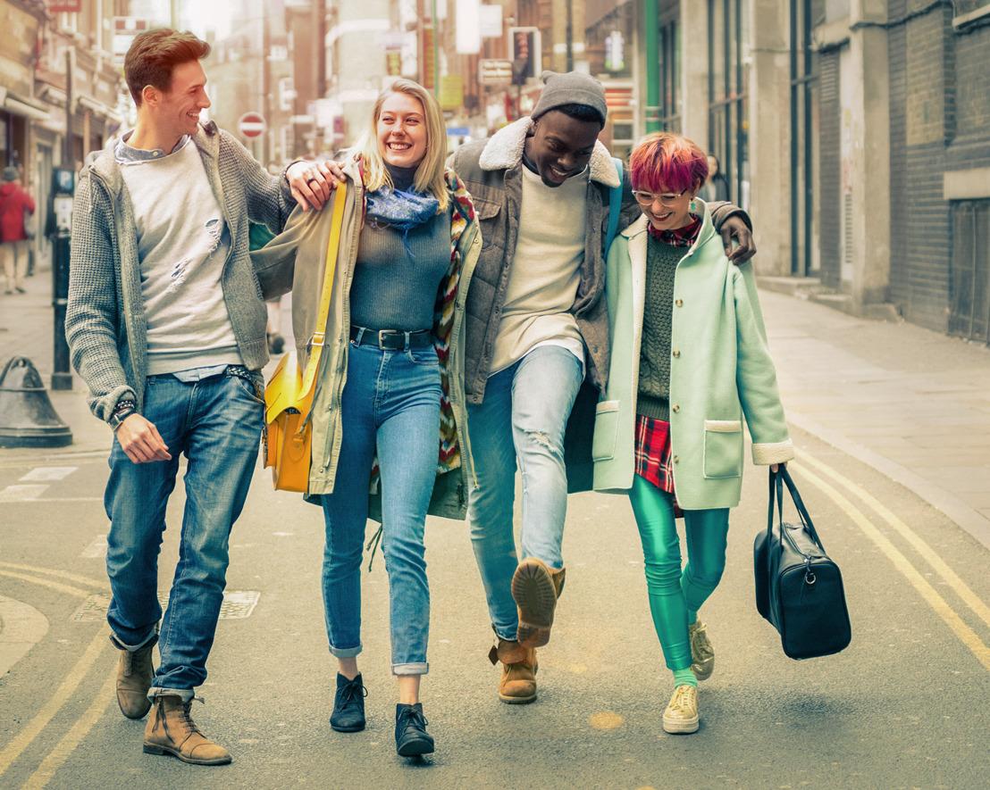 KBC en Mediahuis Advertising informeren Vlaamse jongeren over leven, werken en geld