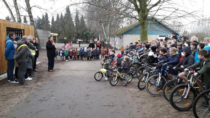 Preview: Nieuwe fietsenstalling voor school Wonderwijs in Zemst