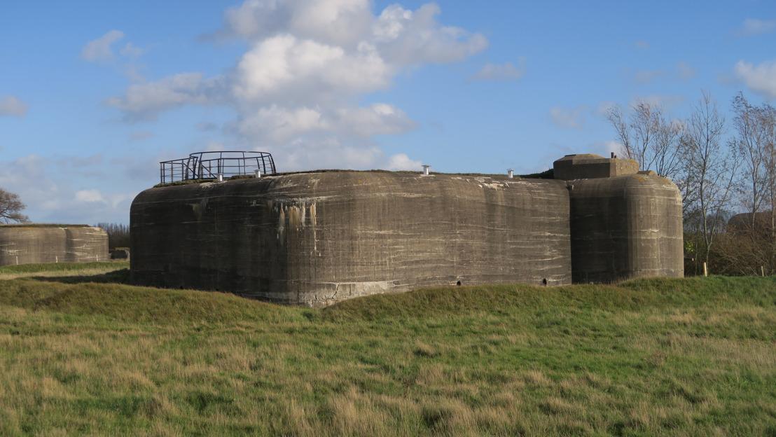 Nieuw uitkijkplatform op bunkersite in Middelkerke zorgt voor prachtig uitzicht