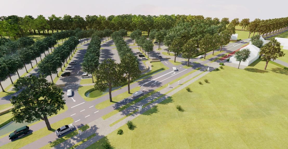 Werken onthaalpoort Aanwijs in Beernem gaan van start