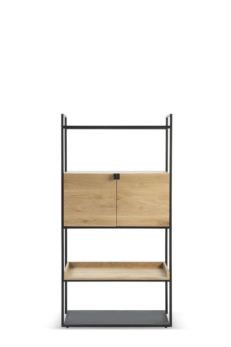 Ethnicraft Oak Cell Unit cupboard_S