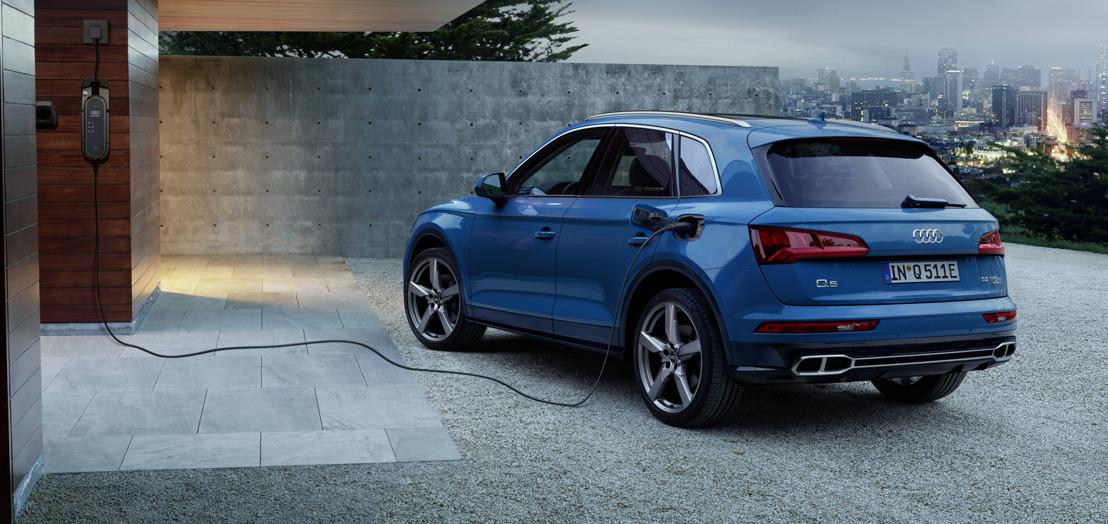 Sportief en efficiënt met plug-inhybride aandrijving: de Audi Q5 55 TFSI e quattro