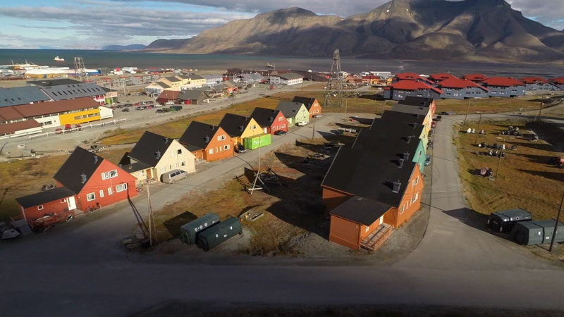 Longyearbyen, Norway, the world's northernmost town