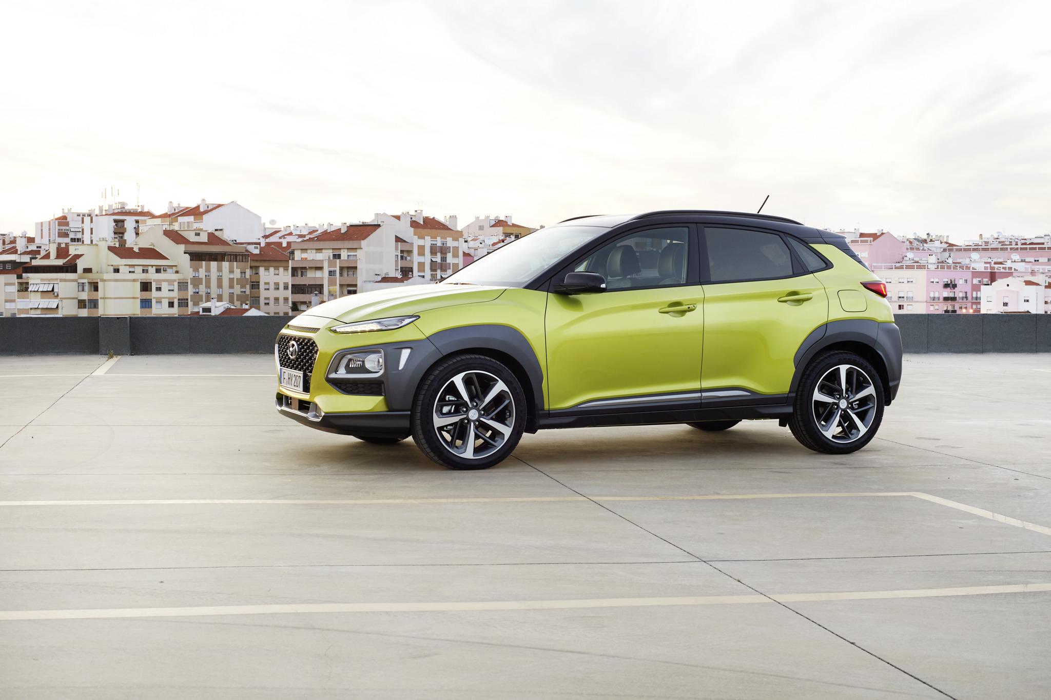 Hyundai Kona Fiche Technique >> All New Hyundai Kona