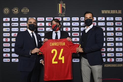 Carrefour et l'URBSFA prolongent leur partenariat exclusif relatif aux Diables Rouges et aux Red Flames jusqu'en 2024