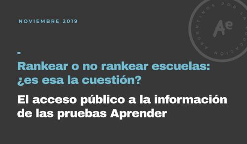 En Argentina el público accede a menos información educativa que en otros países de la región